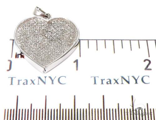 Ladies Heart Diamond Charm 40331 Stone