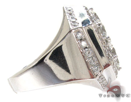 Hexagon Crown Ring Stone