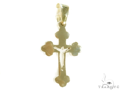 Holy Cross Franco Gold Chain Set  43353 Metal