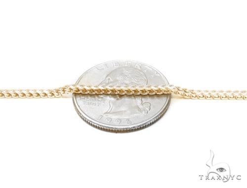 Holy Cross Franco Gold Chain Set  43353 Metal