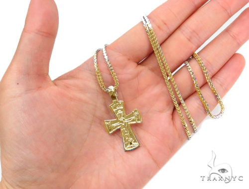 Holy Gold Cross 43349 Gold