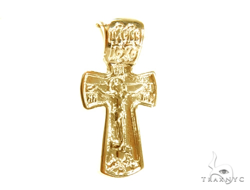 Holy Gold Cross 43351 Gold