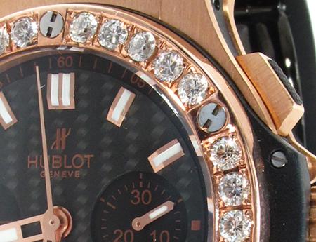 Hublot Classic Fusion Rose Gold Diamonds Watch Hublot