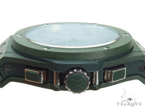 Hublot Green Big Bang Blue Ceramic on Rubber Watch 41116 Hublot