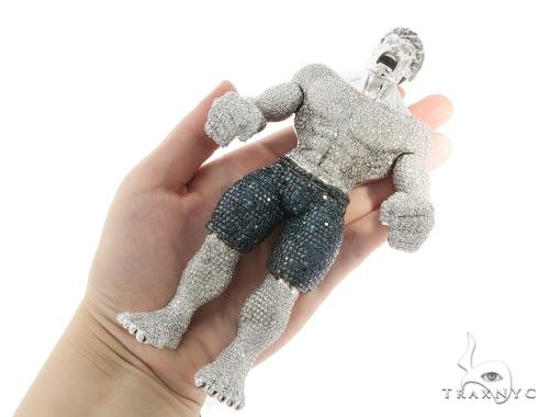 Hulk Diamond Pendant 56405 Metal