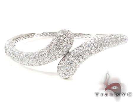 Illusion Diamond Bangle Bracelet Diamond