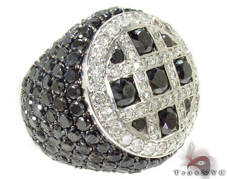 Immortality Black Diamond Ring Stone