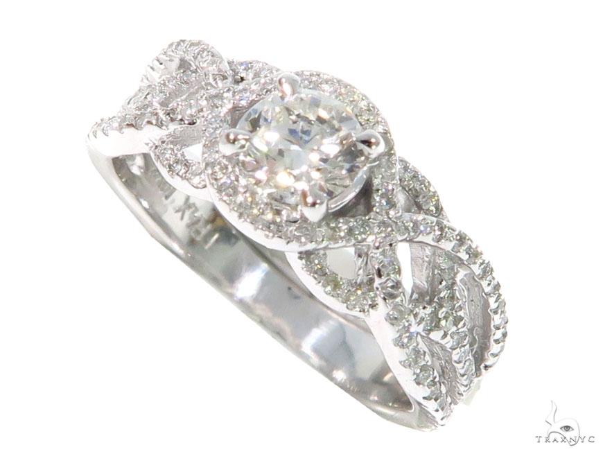 Infinity Diamond  Engagement Ring 45288 Engagement