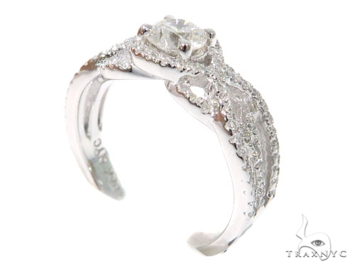 Infinity Diamond  Engagement Ring 45288 Engagement