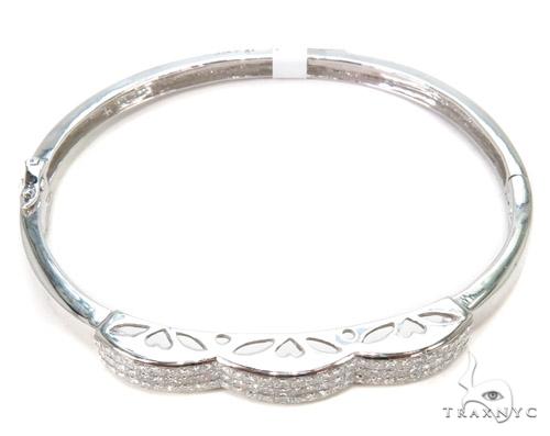 Invisible Diamond Bangle Bracelet 37438 Bangle