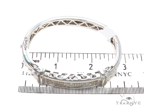 Invisible Diamond Bangle Bracelet 44137 Diamond