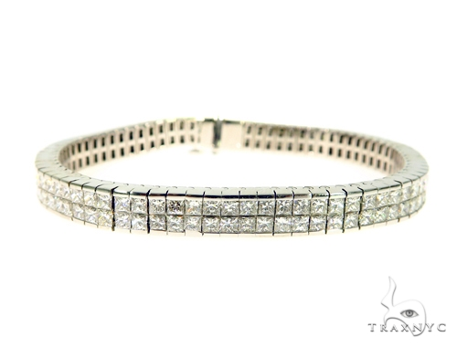 Invisible Diamond Bracelet 49064 Diamond