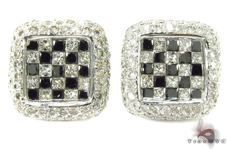 Invisible Diamond Earrings 29010 Stone