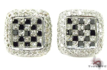 Invisible Diamond Earrings 29010 Stone