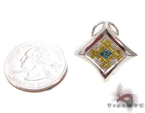 Invisible Diamond Earrings 34034 Stone