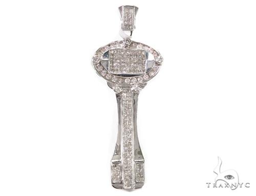 Invisible Diamond Key Pendant 39450 Style