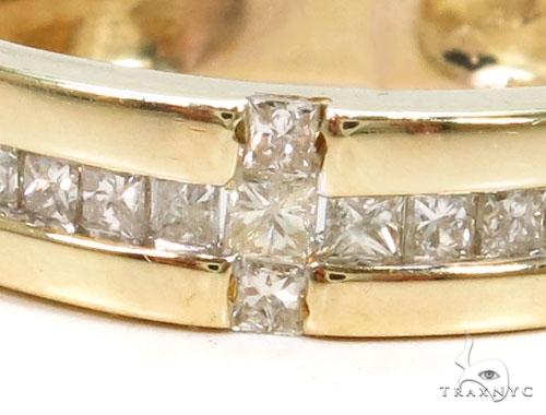 Invisible Diamond Wedding Band Style