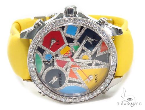 JACOB & Co Five Time Zone Diamond Watch JCM115DA 41007 JACOB & Co