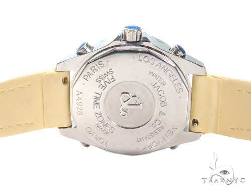 JACOB & Co Five Time Zone Diamond Watch JCM122 41011 JACOB & Co