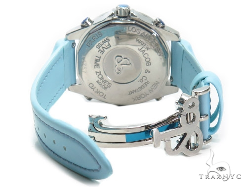 JACOB & Co Five Time Zone Diamond Watch JCM124 41003 JACOB & Co