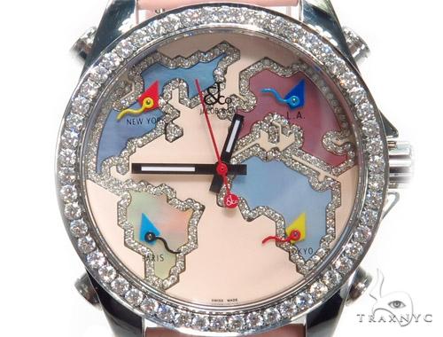 JACOB & Co Five Time Zone Diamond Watch JCM125 41005 JACOB & Co