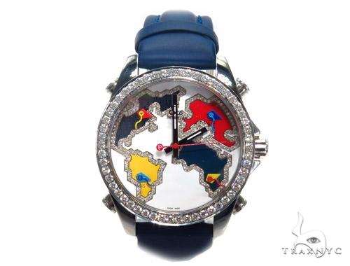 JACOB & Co Five Time Zone Diamond Watch JCM126 41004 JACOB & Co