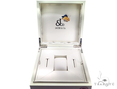 JACOB & Co Five Time Zone Diamond Watch JCM47WP 41010 JACOB & Co