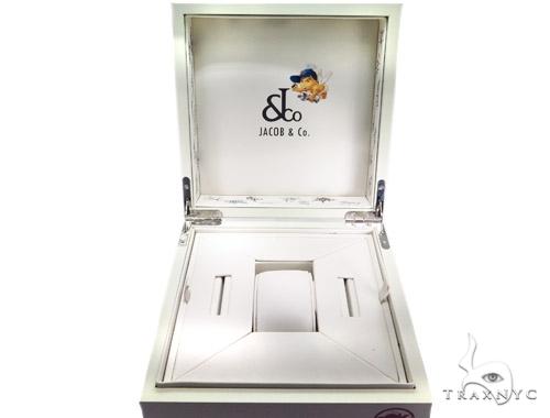 JACOB & Co Five Time Zone Diamond Watch JCMATH14 41001 JACOB & Co