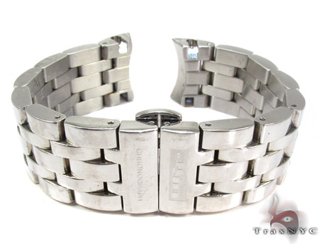 Jojo White Stainless Steel Band 20mm Watch Accessories