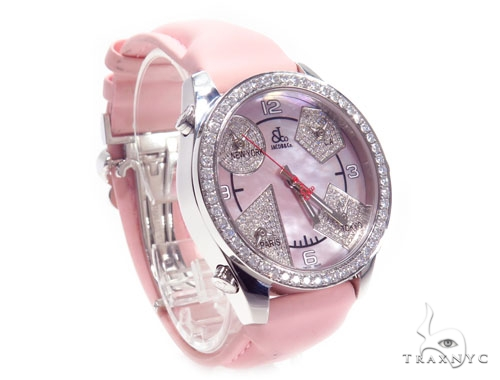 Jacob & Co JCM79P Five Time Zone Ladies Watch 40997 JACOB & Co