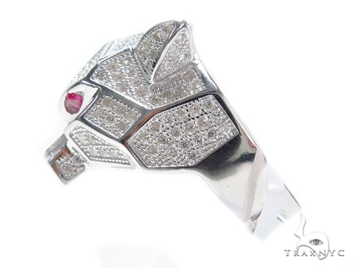 Jaguar Silver Ring 41953 Metal