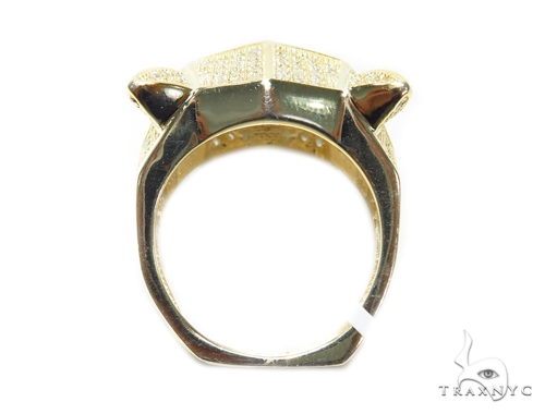 Jaguar Silver Ring 41954 Metal
