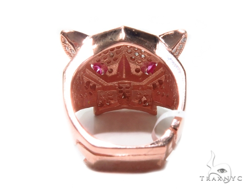 Jaguar Silver Ring 41955 Metal