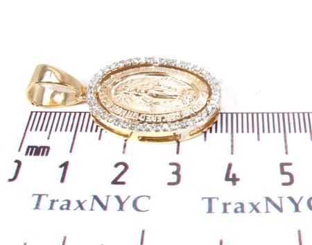 Jesus Diamond Pendant 28460 Metal