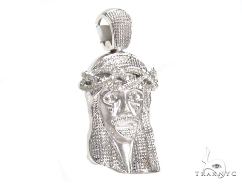 Jesus Diamond Pendant 44768 Style