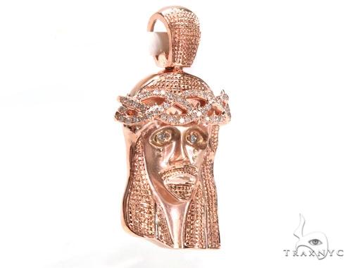 Jesus Diamond Pendant 44769 Style