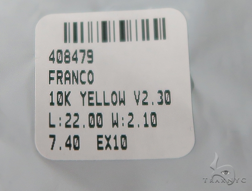 Jesus Diamond Pendant and Franco Chain Set 49587 Metal