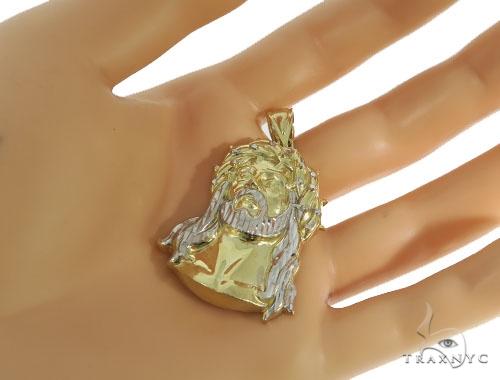 Jesus Gold Pendant 56402 Metal