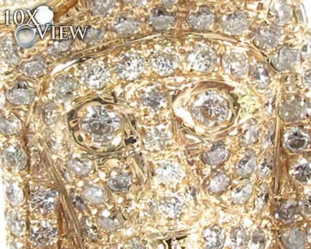 Jesus Head Diamond Pendant 28317 Style