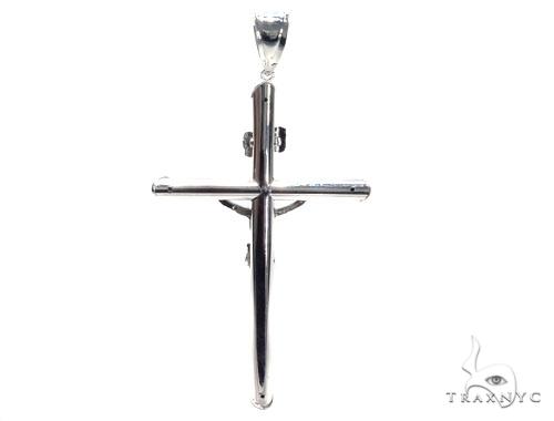 Jesus Silver Cross 41100 Silver