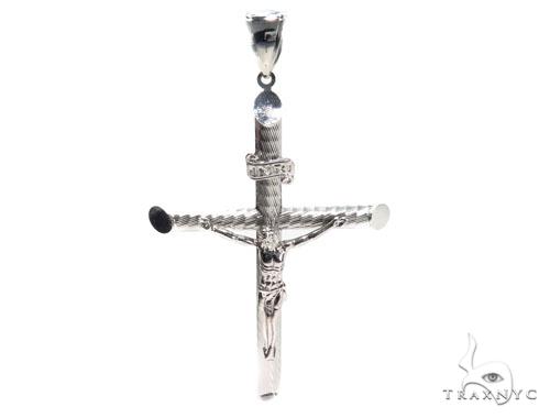 Jesus Silver Cross 41103 Silver