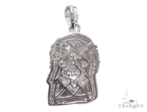 Jesus Silver Pendant 44630 Style