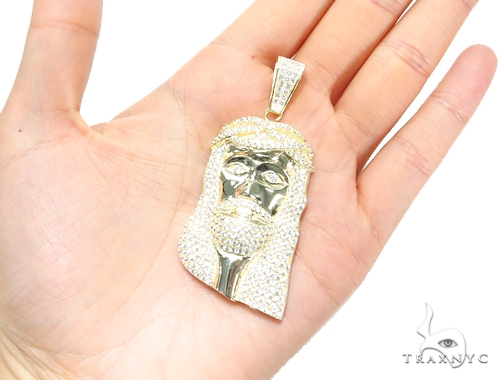 Jesus Sterling Silver Pendant 41960 Metal