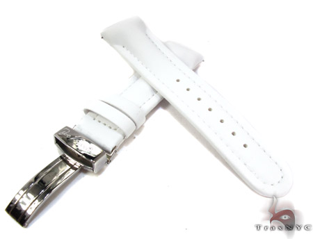 Joe Rodeo White Polyurethane Band 22mm Watch Accessories