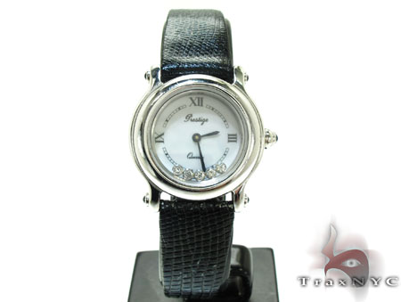 Ladies 14K Gold Diamond Geneve Watch Special Watches