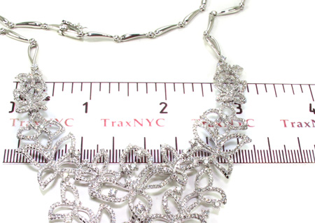 Ladies Butterflies Diamond Necklace 20599 Diamond