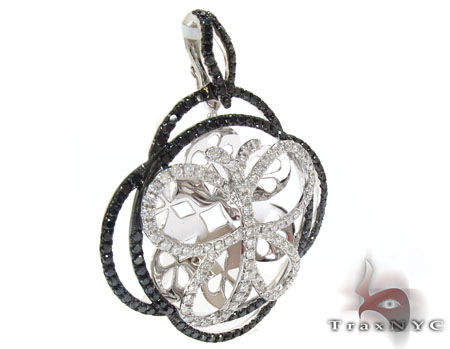 Ladies Butterfly Diamond Pendant 22150 Stone