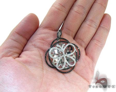 Ladies Butterfly Diamond Pendant 22150 Stone