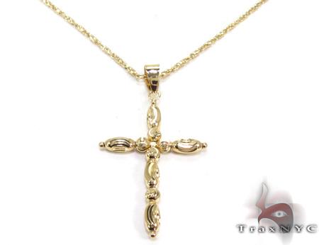 Ladies Cross Pendant 21548 ゴールドクロス