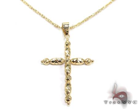 Ladies Cross Pendant 21549 ゴールドクロス